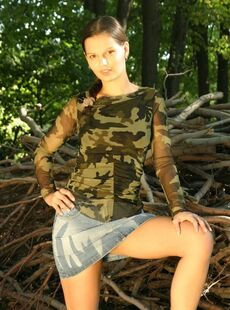 Naked Girls In Public Hh Eve Angel Pics Wood Pile Honey Highres 1500watermarked