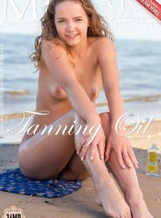 MetArt Faina Bona Tanning Oil 012619