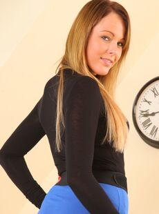 Horny Girl Lacey Jay Doffs Her Short Skirt And Reveals Nice Titties 71852513