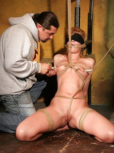 Bound And Blindfolded Babe Safira White Gets Tortured And Fucked